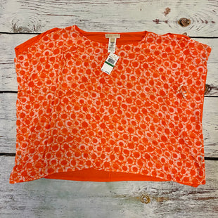 Primary Photo - BRAND: MICHAEL BY MICHAEL KORS STYLE: TOP SHORT SLEEVE COLOR: ORANGE SIZE: L OTHER INFO: NWT SKU: 217-217196-345