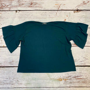 Primary Photo - BRAND: AMARYLLIS STYLE: TOP SHORT SLEEVE COLOR: GREEN SIZE: 3X SKU: 217-217196-585