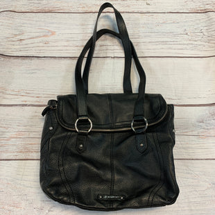 Primary Photo - BRAND: B MAKOWSKY STYLE: HANDBAG DESIGNER COLOR: BLACK SIZE: MEDIUM SKU: 217-217167-1485