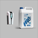 Automatic Hand Disinfection Dispenser & 5 Liter High Level Disinfectant - London Hygienics