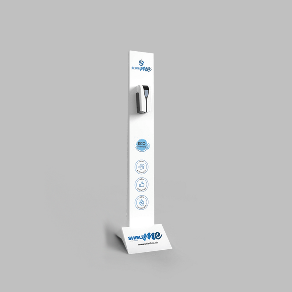 Dispenser Tower SLIM TYPE (Dispenser + 5 Liter Disinfectant) - London Hygienics