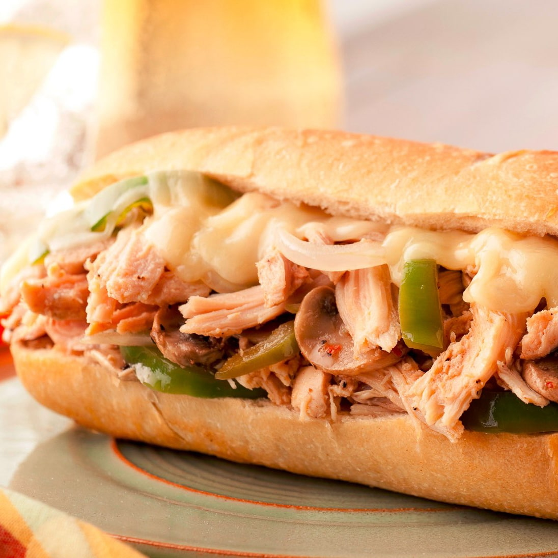 Chicken philly cheese steak cooked daily in Glendale Arizona