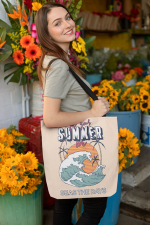Make waves this Summer! Eco Tote Bag