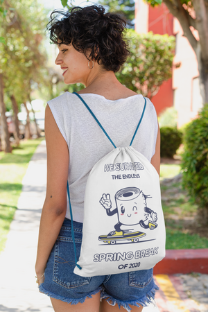 Celebrate your family's survival in style! Drawstring bag