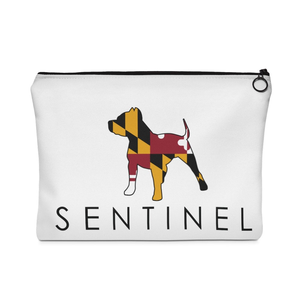 Sentinel MD Carry All Pouch - Flat, Dog Lovers Cloths, Dog Rescue T shirt, Pit Bull Clothing, Sentinel Clothing Brand, Pouch,