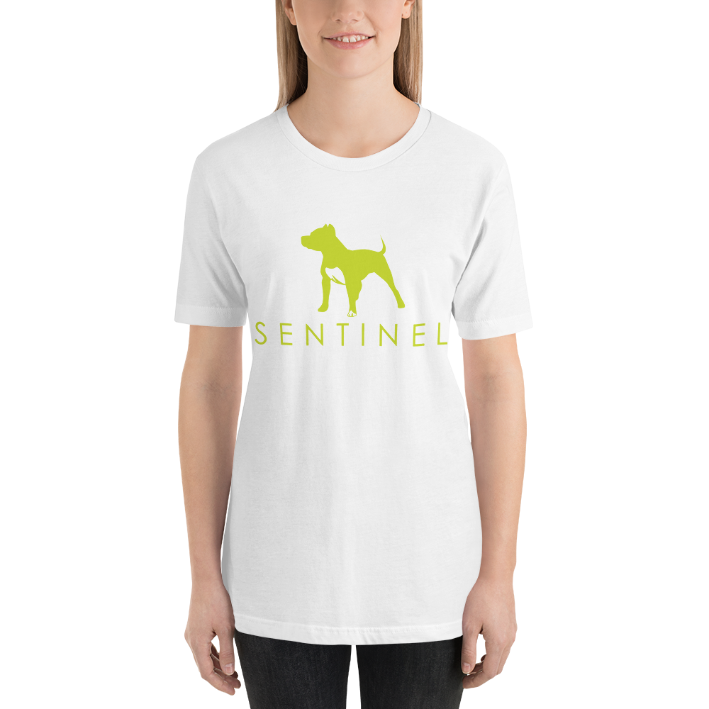Sentinel Ladie's T-Shirt, Dog Lovers Cloths, Dog Rescue T shirt, Pit Bull Clothing, Sentinel Clothing Brand,