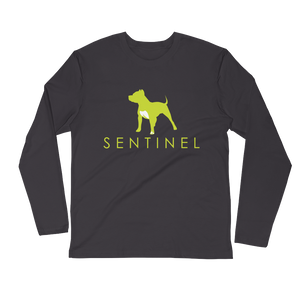 Sentinel Men's Long Sleeve Fitted Crew