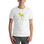 Sentinel Men's T-Shirt, Dog Lovers Cloths, Dog Rescue T shirt, Pit Bull Clothing, Sentinel Clothing Brand,