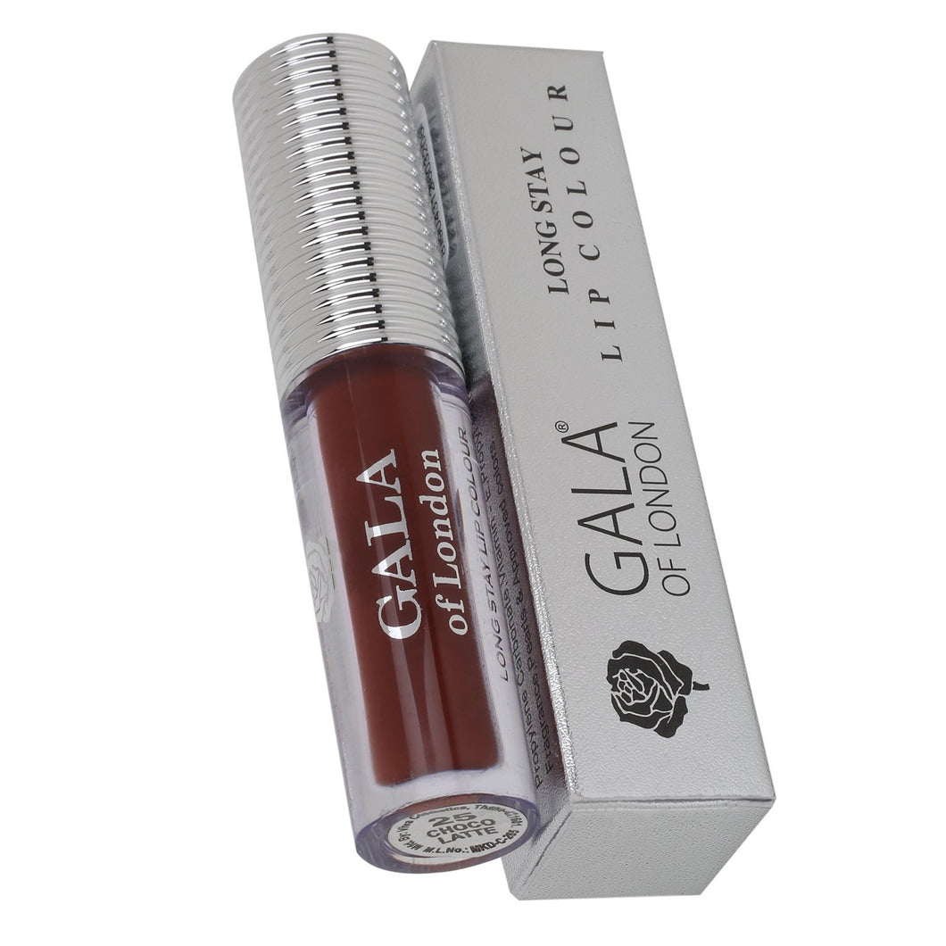 Gala of London SMUDGE PROOF Long Stay Lip Colour - 25 Chocolatte