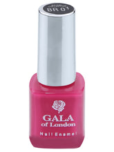 Load image into Gallery viewer, Gala of London Bridal Nail Polish - Pink Glossy BR01