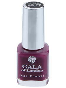 Gala of London Bridal Nail Polish - Purple Glossy BR05