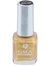 Load image into Gallery viewer, Gala of London Bridal Nail Polish - Gold Glossy BR08