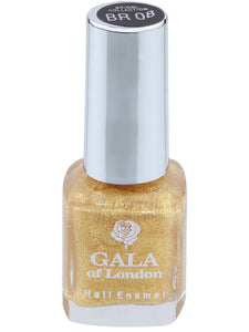 Gala of London Bridal Nail Polish - Gold Glossy BR08
