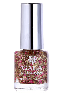 Gala of London Bridal Nail Polish Transparent Pink Glossy BR16