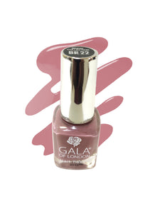 Gala of London Bridal Nail Polish - Natural Nude Glossy BR22