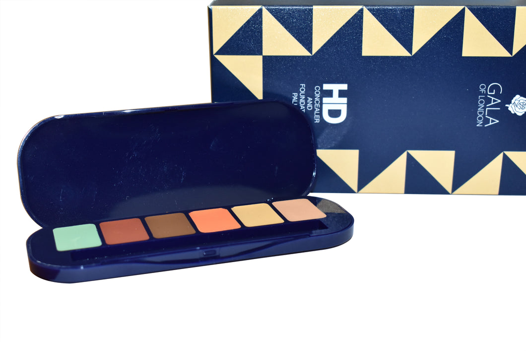Gala of London HD Concealer and Foundation Palette - Set 2