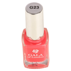 Gala of London Gel Nail Polish - Pink Glossy G23
