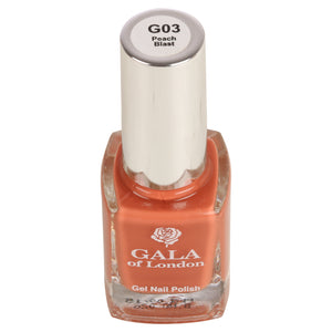 Gala of London Gel Nail Polish - Peach Glossy G3