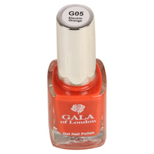 Load image into Gallery viewer, Gala of London Gel Nail Polish - Orange Glossy G5