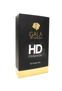 Gala of London HD Foundation 30ml - Natural Nude( Wheatish Skin Tone)
