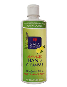 Gala of London Advanced Hand Cleanser - Lemon & Tulsi 500ml