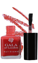 Load image into Gallery viewer, Gala of London Fashion Nail Enamel - Orange Glossy N61