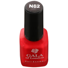 Load image into Gallery viewer, Gala of London Fashion Nail Enamel - Red Glossy N62