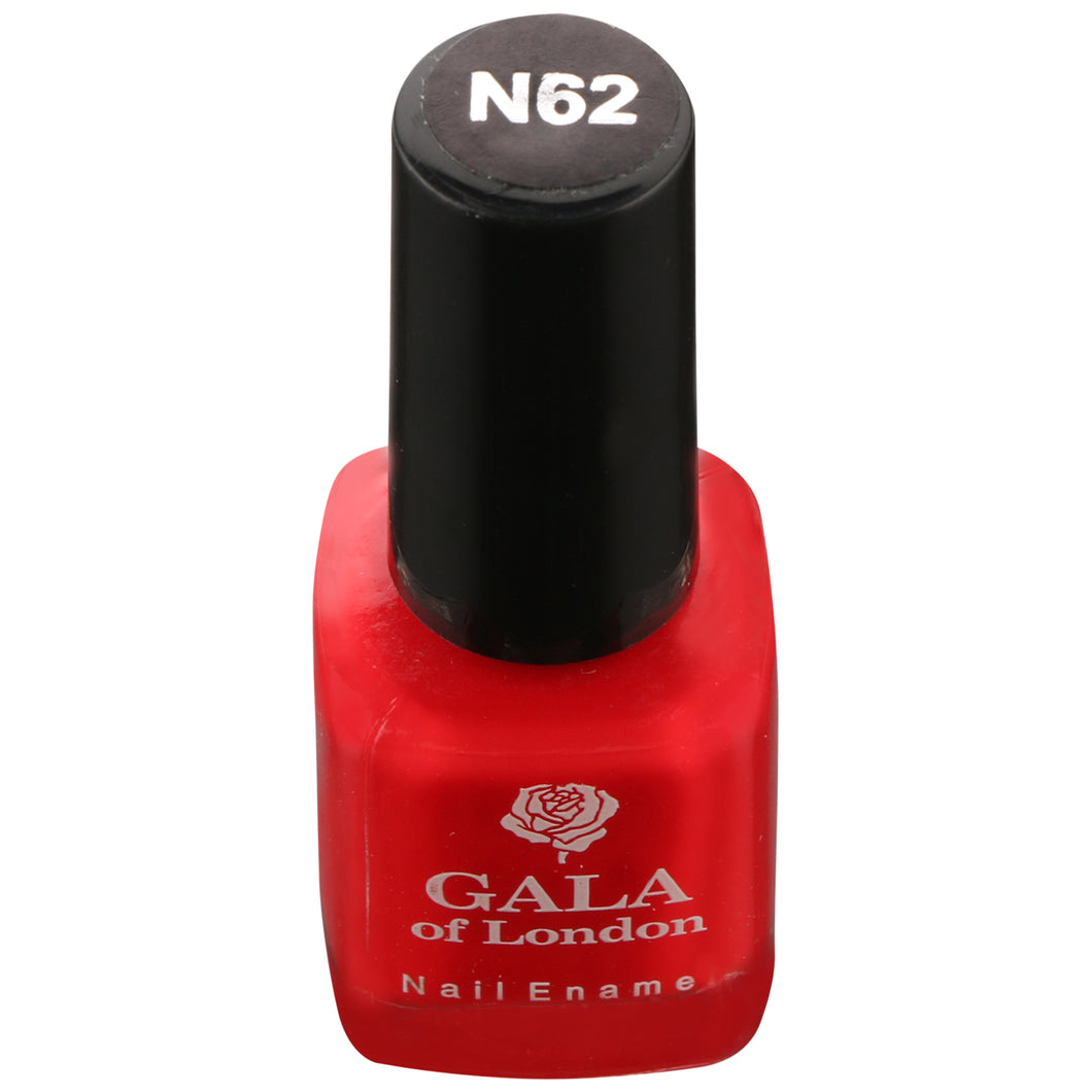 Gala of London Fashion Nail Enamel - Red Glossy N62