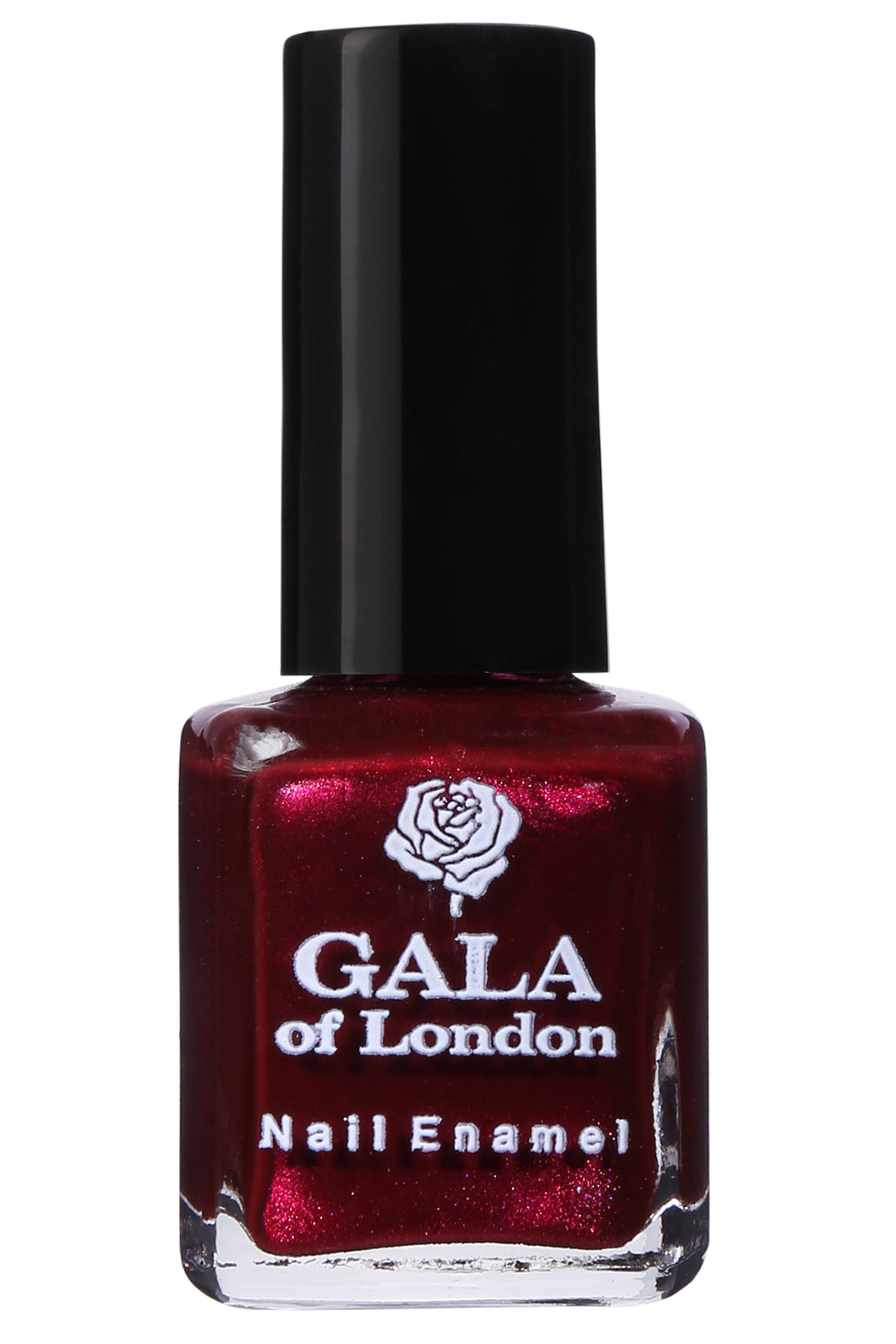 Gala of London Fashion Nail Enamel - Maroon Glossy N28
