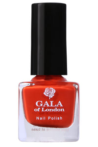 Gala of London S Series Nail Polish - Orange Glossy S38