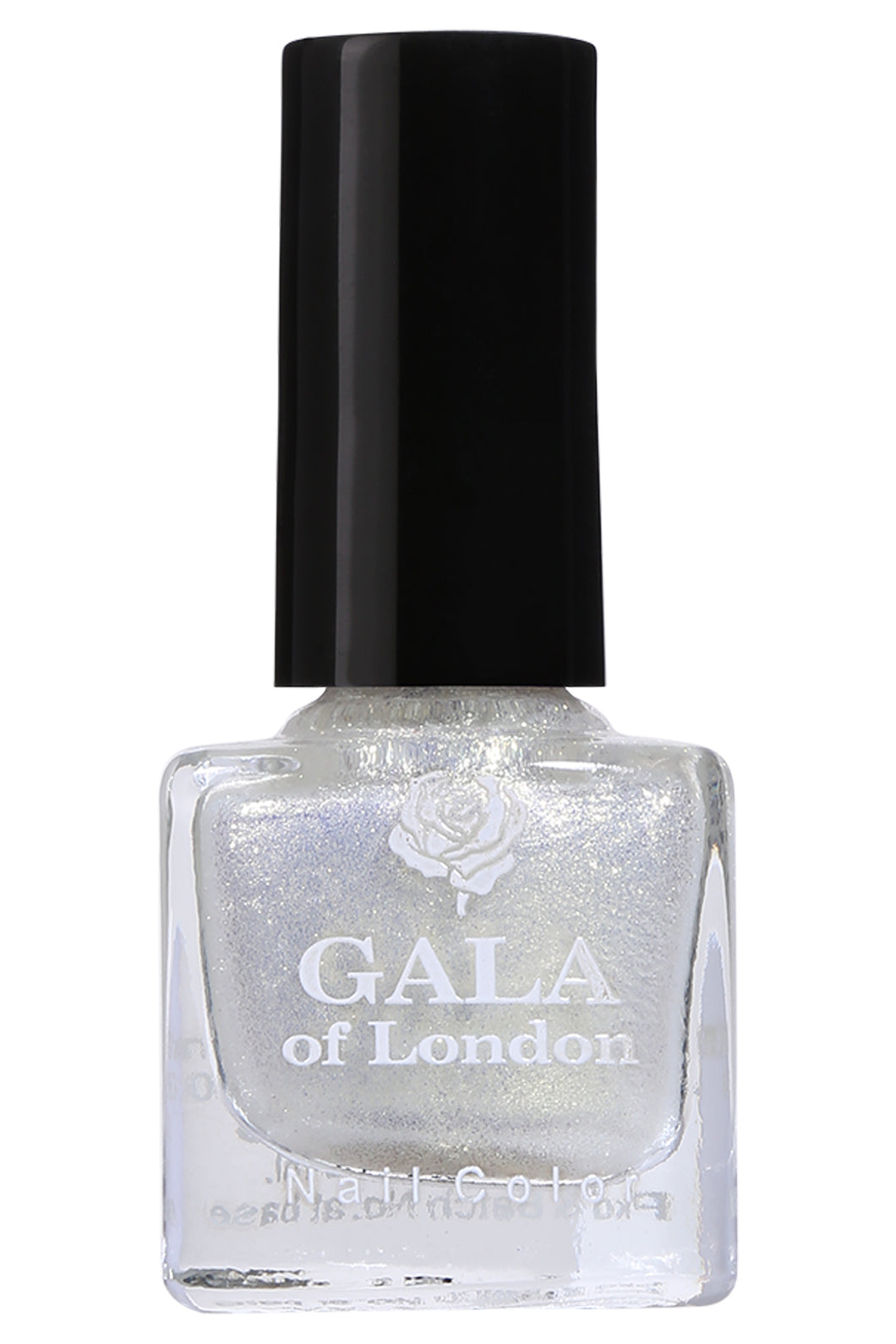 Gala of London S Series Nail Polish - White Shimmer Glossy S6