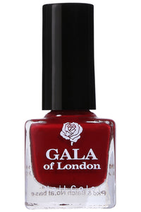 Gala of London S Series Nail Polish - Red Glossy S33