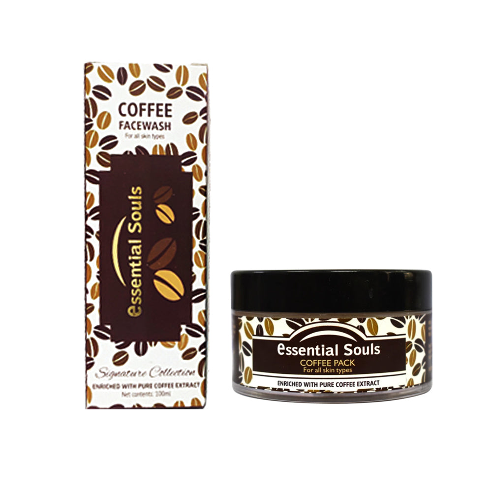 Essential Souls Coffee Facewash 100ml and Coffee Pack 50g