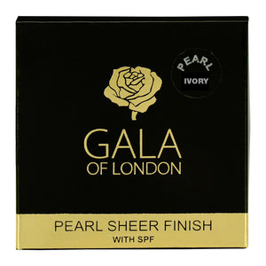 Gala of London Pearl Sheer Finish 12g - Ivory