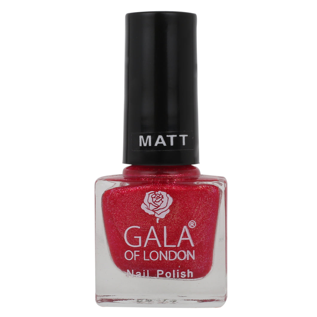 Gala of London S Series Nail Polish - Pink Matte S51