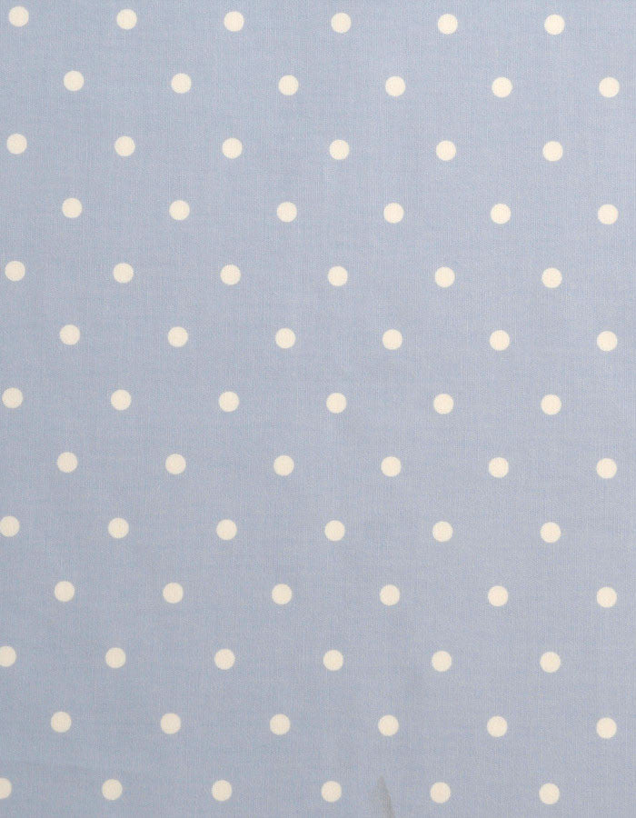Cotton Fabric Dotty Blue