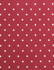 Oilcloth Dotty Multi (Red)