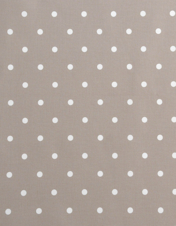 Oilcloth Dotty Taupe