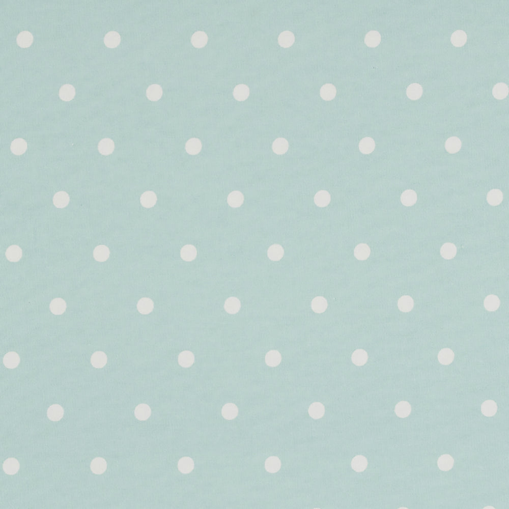 Cotton Dotty Seafoam