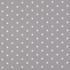 Oilcloth Dotty Smoke