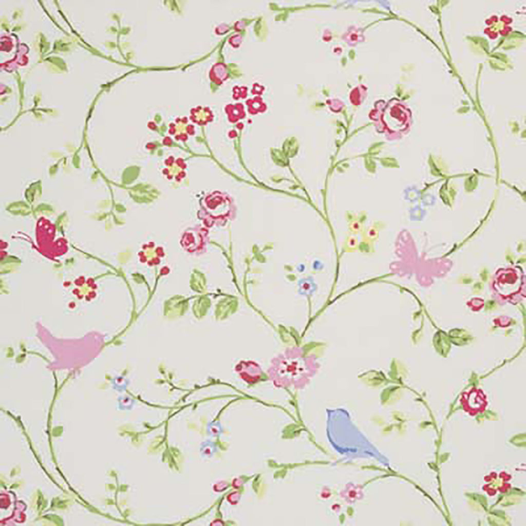 Cotton Birdtrail Chintz