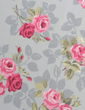 Cotton Fabric Nancy Grey