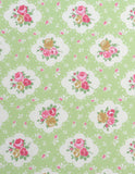 Cotton Fabric Rosetta Summer
