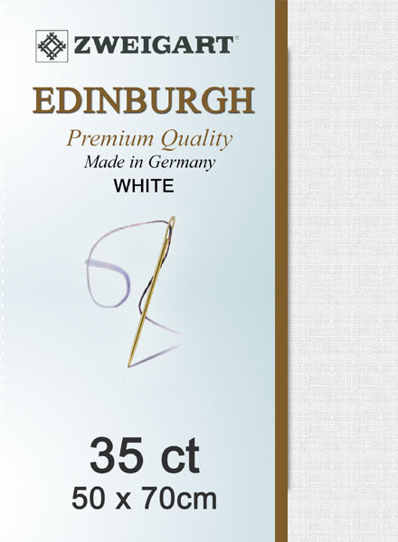 Zweigart Linen, Edinburgh 35ct - White