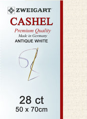 Zweigart Linen, Cashel 28ct - Antique White
