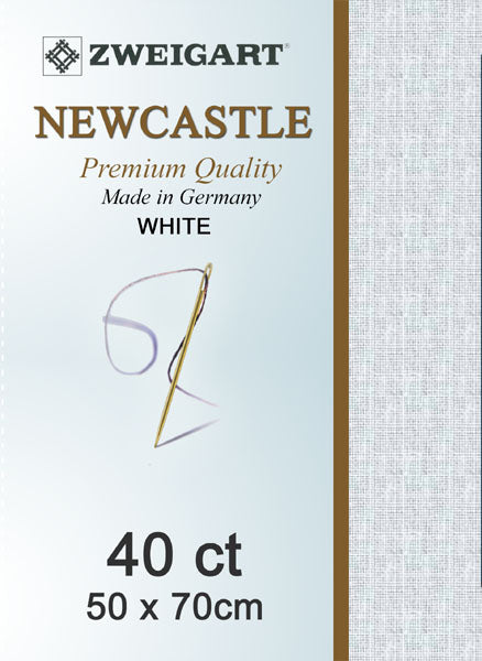 Zweigart Linen, Newcastle 40ct - Antique White