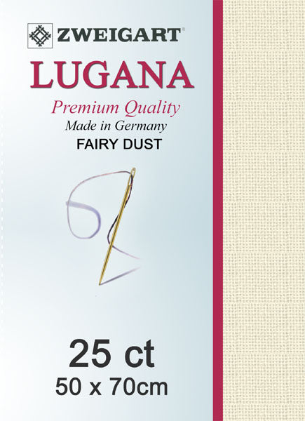 Zweigart Linen, Lugana 25ct -FAIRY DUST 305