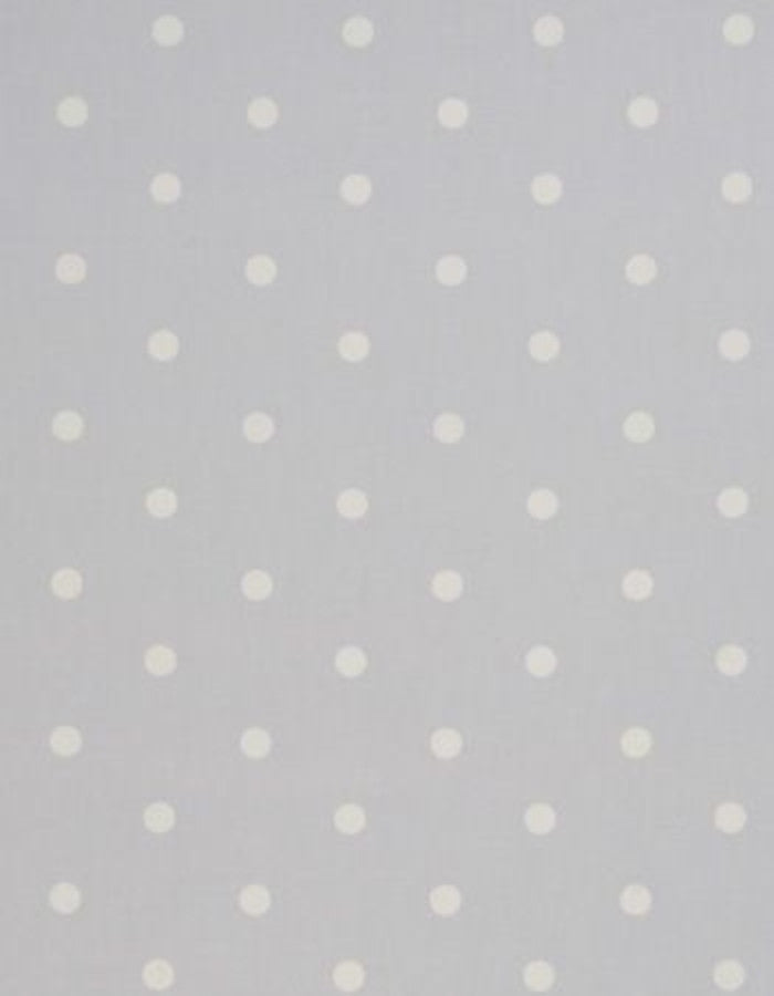 Oilcloth Dotty Grey