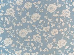 Cotton Fabric Meadow Powder Blue