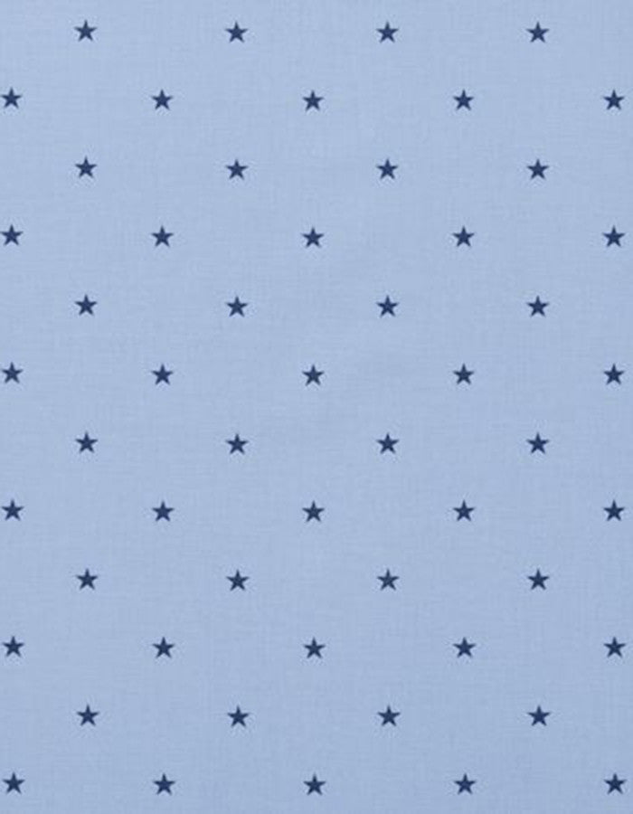 Cotton Fabric Etoile Stars Denim